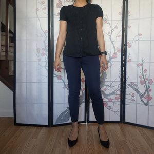 Light Black Short Sleeve Shirt